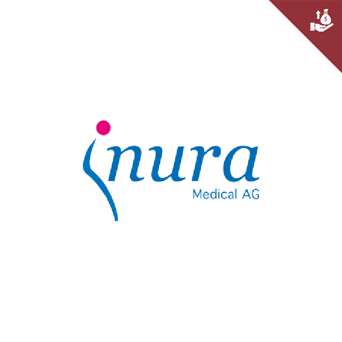 Swiss Startup Inura Medical Logo Fundraising