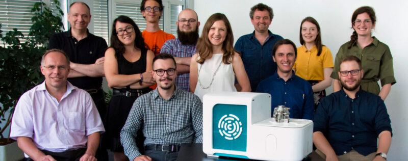 swiss startup resistell team portrait